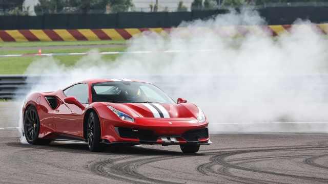 Pista!法拉利史上最强的V8