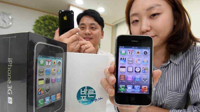 活久见!韩国时隔9年再发售苹果3GS