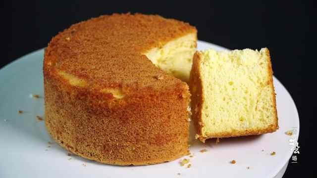 蛋糕最简单的做法,好吃又健康
