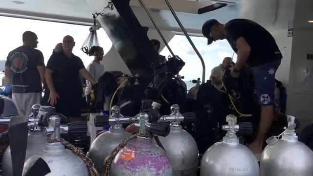 志愿搜救队出海:将彻底检查沉船