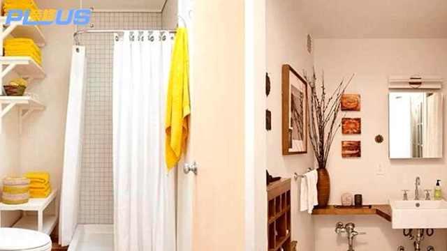 卫生间干湿分离的隔断技巧!