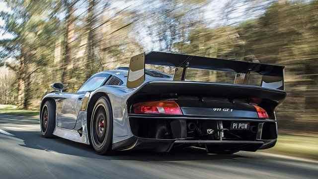 量产仅25辆,稀有的保时捷911 GT1