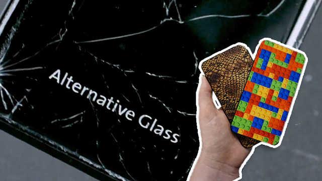 最新手机屏幕玻璃:能让你摔15次