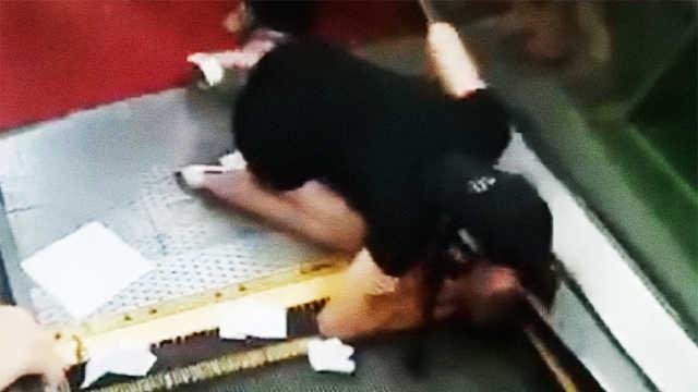 又现电动扶梯吃人!幼童右臂被绞伤