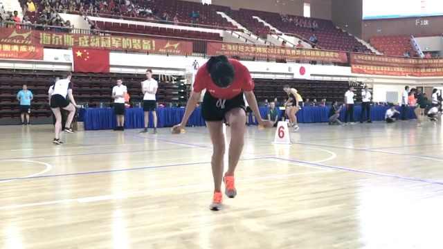 1秒跳7下!00后女孩获跳绳世界冠军