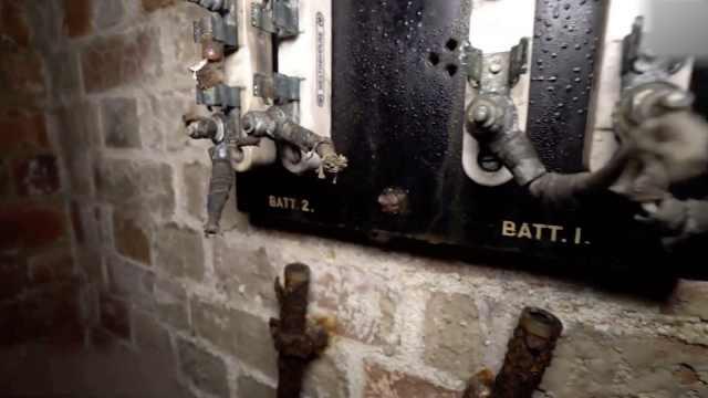 探险者意外发现二战隧道:封存30年