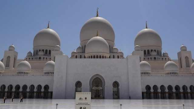 在迪拜带你看清真寺,真是美极了