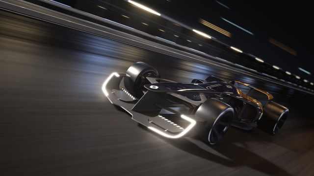 10年后F1会长什么样?这辆车告诉你