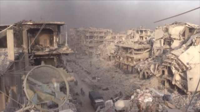 末日感!叙政府军回忆对IS最难一战