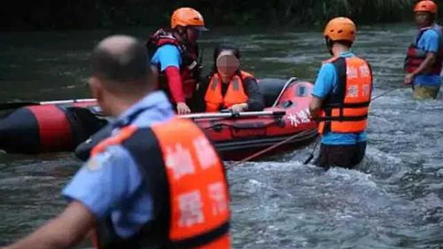 49名驴友路遇山洪,一上海游客遇难