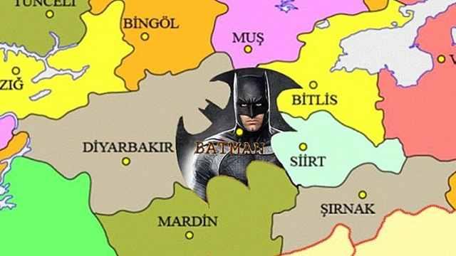 土耳其一省撞名蝙蝠侠:边界也要改
