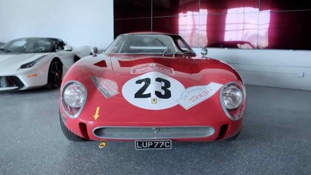 哪个土豪3.3亿买走了法拉利古董车