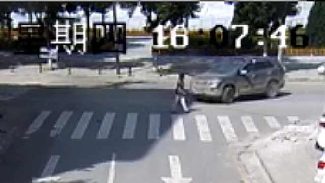 司机斑马线不让行,撞死行人被刑拘