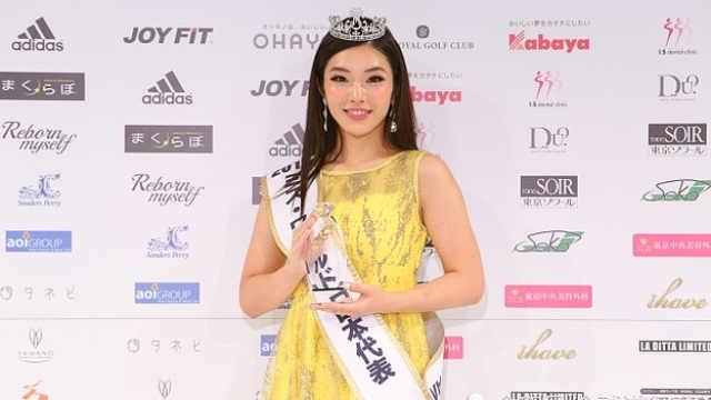伊达政宗后代来选美,当选日本小姐