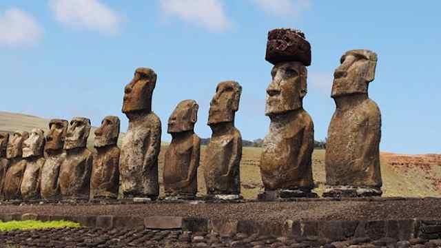 5个最惊人的雕像!外星人的杰作?