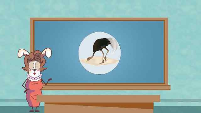 鸵鸟真的会把头埋进沙子里吗?