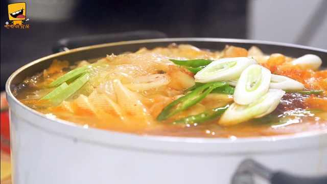 韩国部队火锅,简单好学,汤汁浓厚