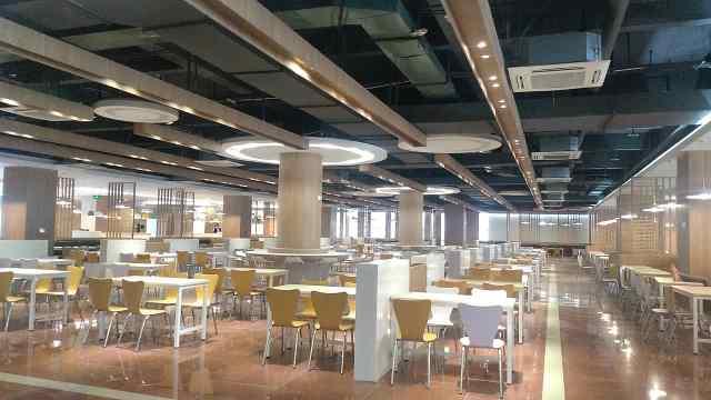 豪华商场?川大新食堂未开放就红了