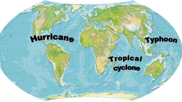 知识小课堂:飓风、台风有啥区别?
