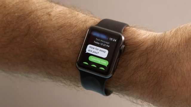 果粉福利!教你蘋果手表的11個功能