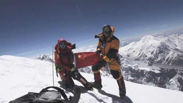 中国女性第1人!她登顶14座8km+山峰
