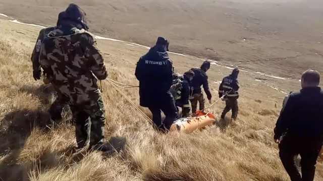 驴友登山失联,消防搜救5天寻到遗体