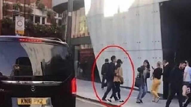 伦敦街头网友疑似偶遇刘强东章泽天