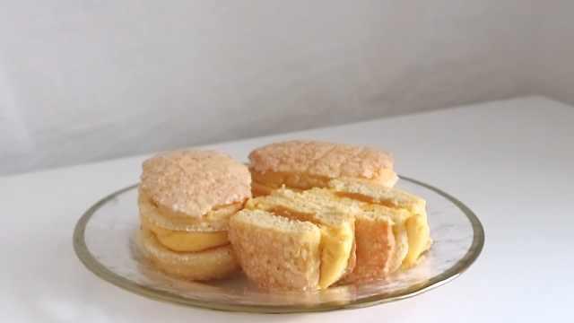 酥脆美味的南瓜奶酪饼干
