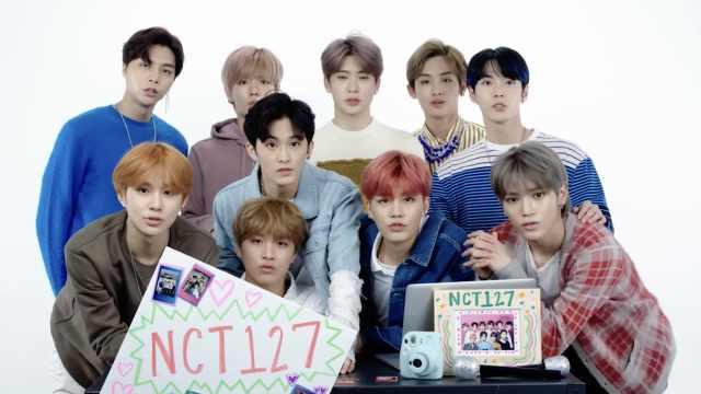 福利!韩国男团NCT127回答粉丝提问