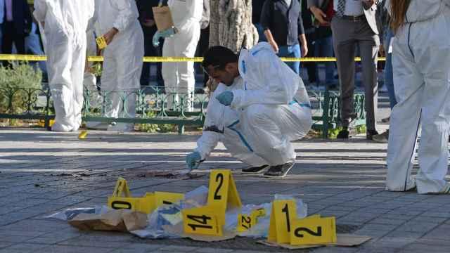 恐袭!突尼斯市中心女子自爆20人伤