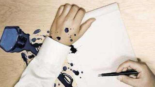 会消失的蓝色墨水是什么原理?