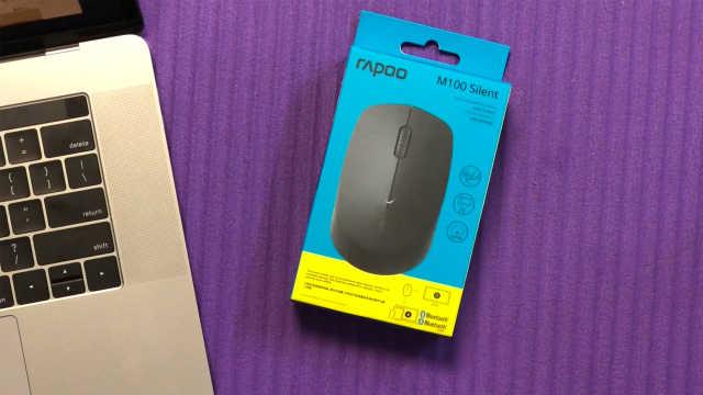 最便宜蓝牙鼠标?雷柏M100鼠标开箱