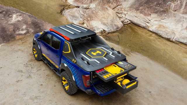 日产巴西打造了款救援用概念皮卡车