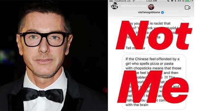D&G创始人辱华论引众怒,上海秀取消
