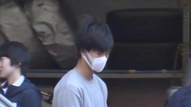 日本男子纵火,假装目击者接受采访