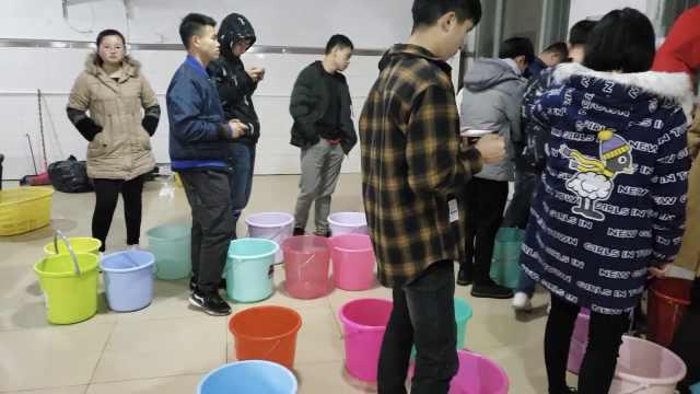 高校宿舍停水,学生开房去洗热水澡
