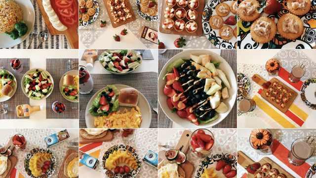 文艺老妈做花式早餐,狂买餐具摆盘