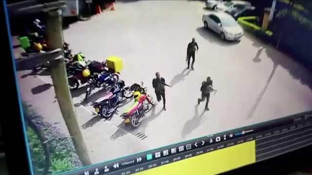肯恐袭已致6死,恐怖分子画面曝光