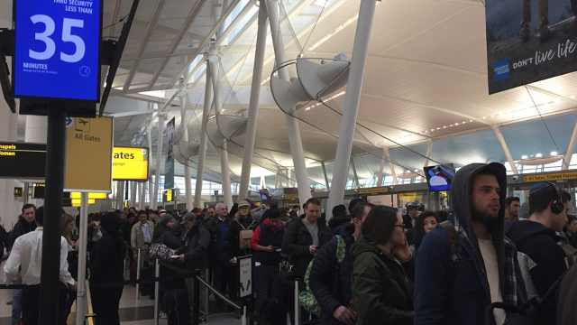 美政府关门一月,中国旅客担心出行
