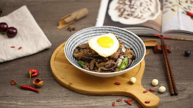 洋葱肥牛饭,吃出你的幸福感!