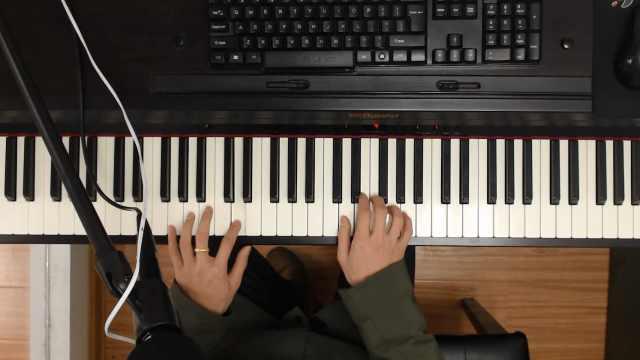 流浪地球推广曲《星》钢琴教学视频
