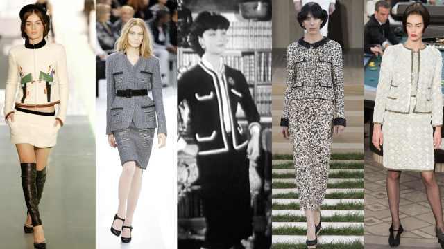 Vogue:老佛爷香奈儿套装经典创新
