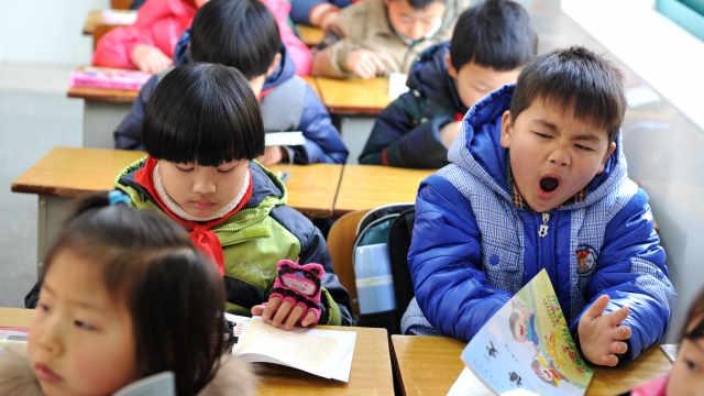 愁!中国超六成儿童睡眠不足8小时