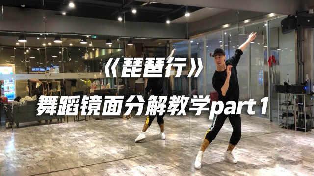 《琵琶行》舞蹈镜面分解教学p1