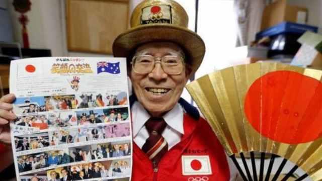 追隨55年,日本92歲奧運大叔去世