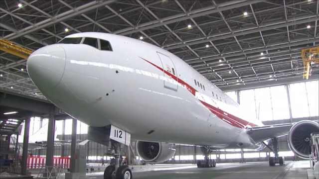 日天皇首相外访飞机将换成波音777