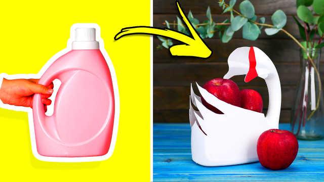 5个塑料瓶废物利用的小技巧