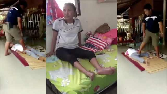 泰女子找按摩治腿疼,竟被踩断大腿