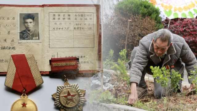 92岁老兵守烈士墓61年:坚持到最后