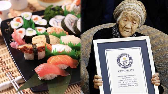 科学家揭日本人长寿秘诀:食物多样